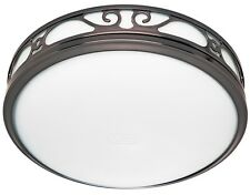 Hunter 83002 Ventilation Sona Bathroom Exhaust Fan with Light, Imperial Bronze