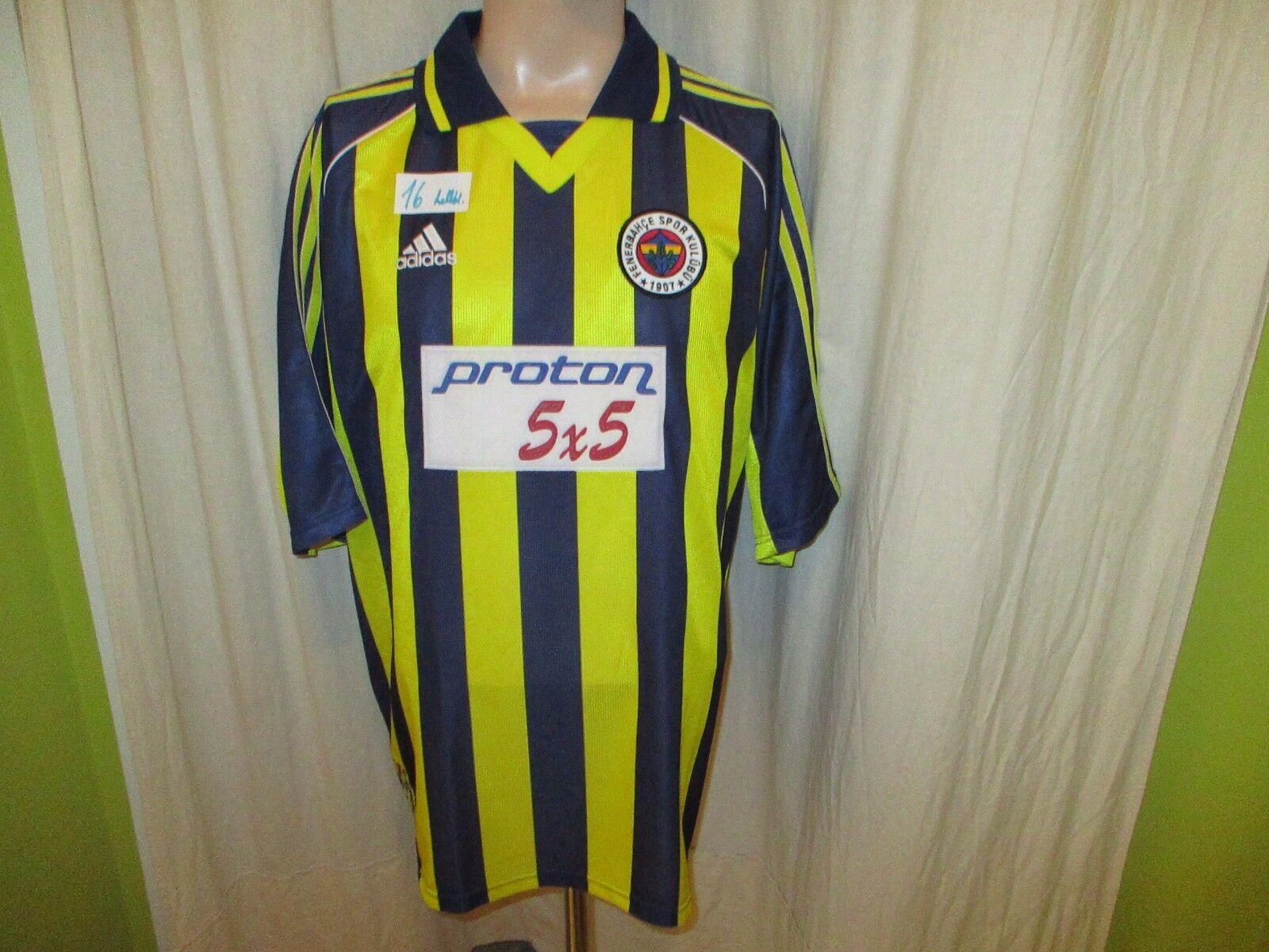Fenerbahce Istanbul Original Adidas Trikot 1999 00  predon 5x5  Gr.XL TOP