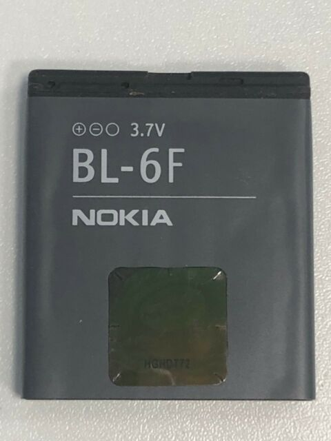 Original Battery 1200mah Bl-6f Nokia N78 N79 N95 8gb New