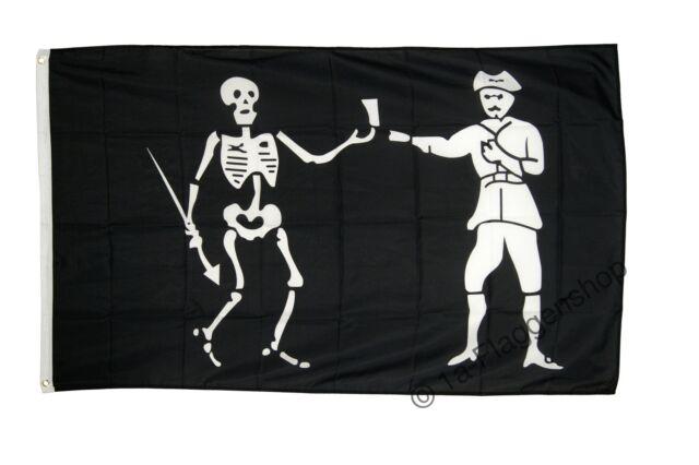 Fahne Pirat Jolly Roger Flagge Piraten Hissflagge 90x150cm
