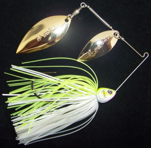 River2Sea Ish Monroe Bling Spinnerbait Double Willow Select Colors And Sizes