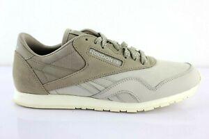 Reebok-Classic-CL-Nylon-Slim-Core-Femmes-Chaussures-en-Cuir-Shoes-Sneaker-v68398