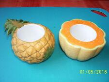 Partylite Obstgarten Leuchter Ananas und Melone     Rarität