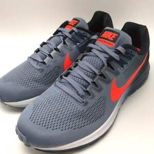 big sale 198aa 20d29 Details about Nike Air Zoom Structure 21 Men's Running Dark Sky Blue/Total  Crimson 904695-406