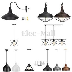 Metal Vintage Ceiling Light Modern Chandelier Pendant Kitchen Bar - Ebay kitchen ceiling lights
