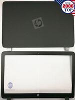 Hp Probook 450 455 G2 Lcd Back Cover 768123-001 + Front Bezel Us Seller
