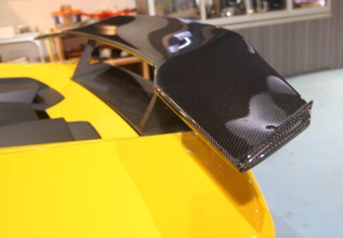 Carbon Fiber SV Rear Spoiler Wing with base fit Lamborghini HURACAN LP610 spyder