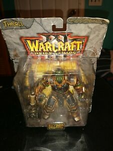 World of Warcraft 3 Orc Warchief Thrall Reign Of Chaos Action Figure orc
