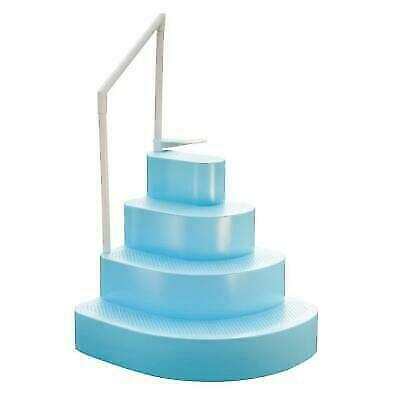Blue Wave NE100BL Wedding Cake Swimming Pool Steps - Blue for sale online |  eBay