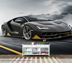 Details About Cool Lamborghini Centenario Wall Mural Wall Art Quality Pastable Wallpaper Decal