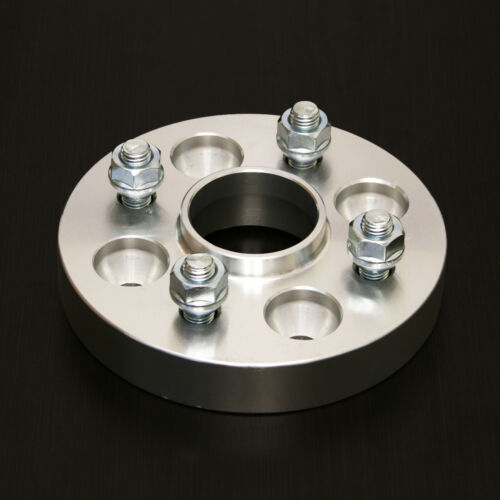 """Hubcentric Wheel Spacers 1/"""" 4x114.3-64.1-12x1.5 For Acura /& Honda 25mm"""