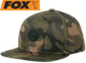 679559f01 Fox Chunk Camo Edition flacher Schirm Snapback kappe