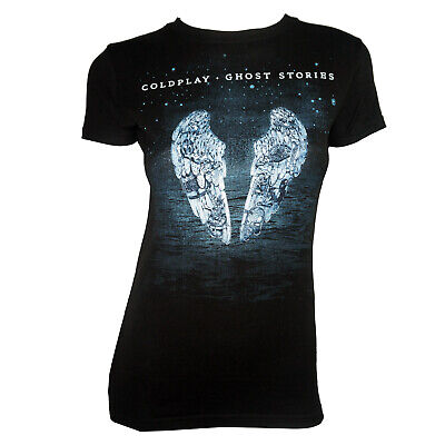 Coldplay Ghost Stories T-Shirt Ladies Womens Size  M L XL Music Cotton Tee