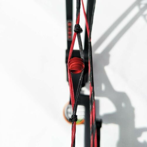 1PC Archery Compound Bow Peep Sight Housing 37 Degree Hooded Peep Aluminum