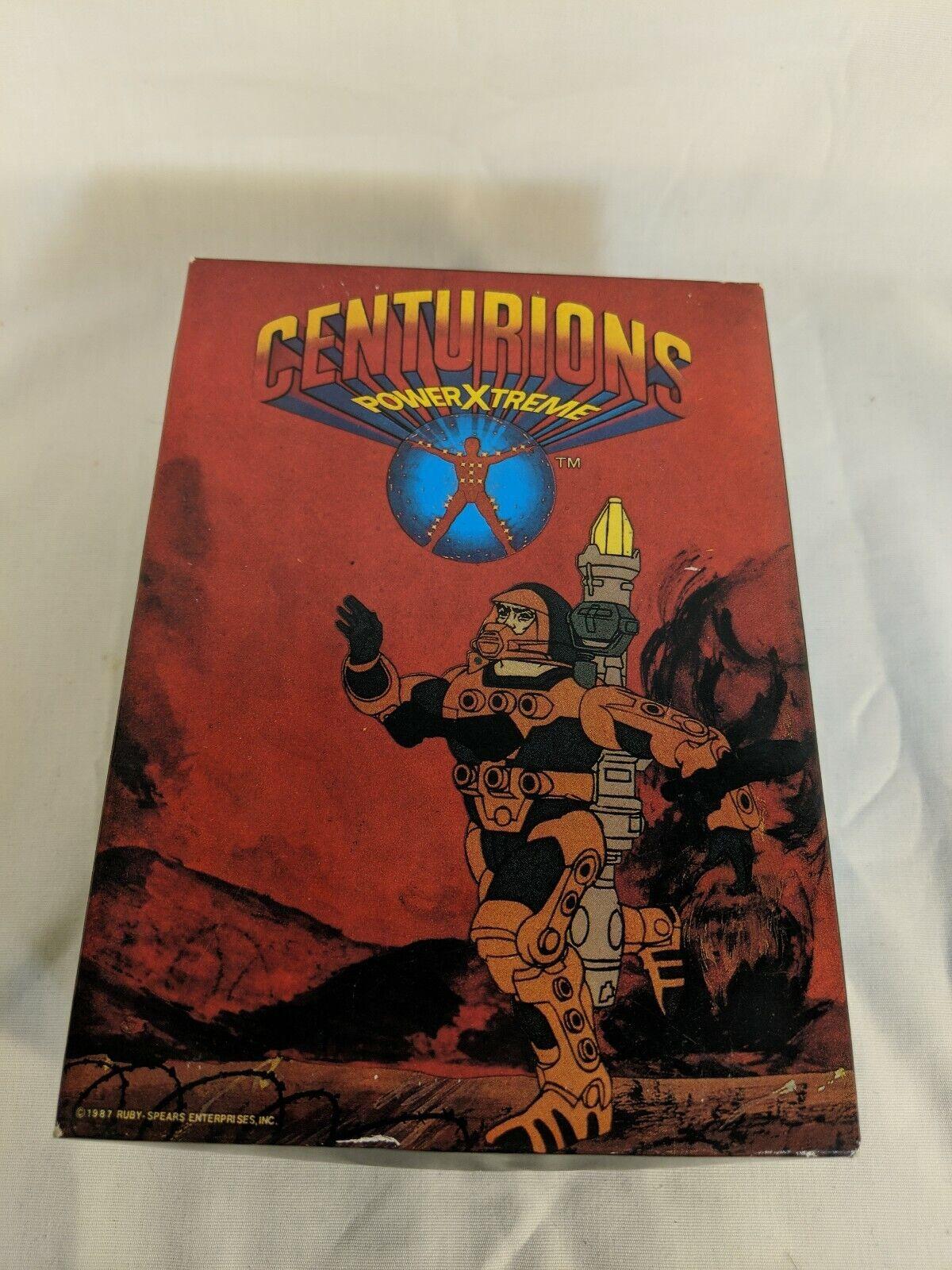 1987 Ruby  Centurions energiaXtreme bambini sautope With scatola Super Rare    Wow  spedizione gratuita!