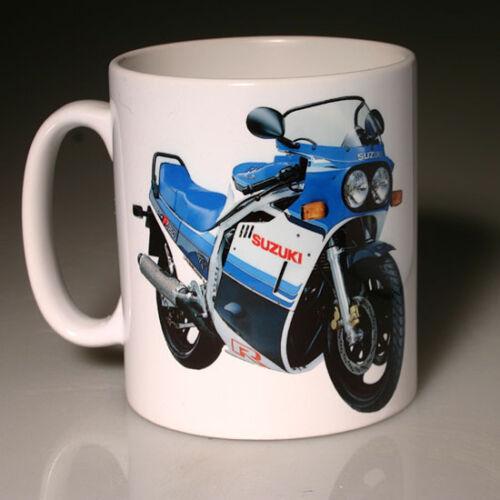 BLUE SUZUKI GSXR750 F #103 MUG