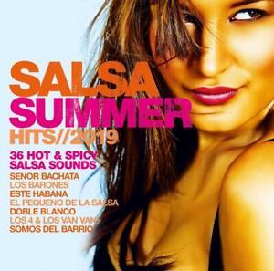 SALSA-SUMMER-HITS-2019-SENOR-BACHATA-LOS-BARONES-2-CD-NEW