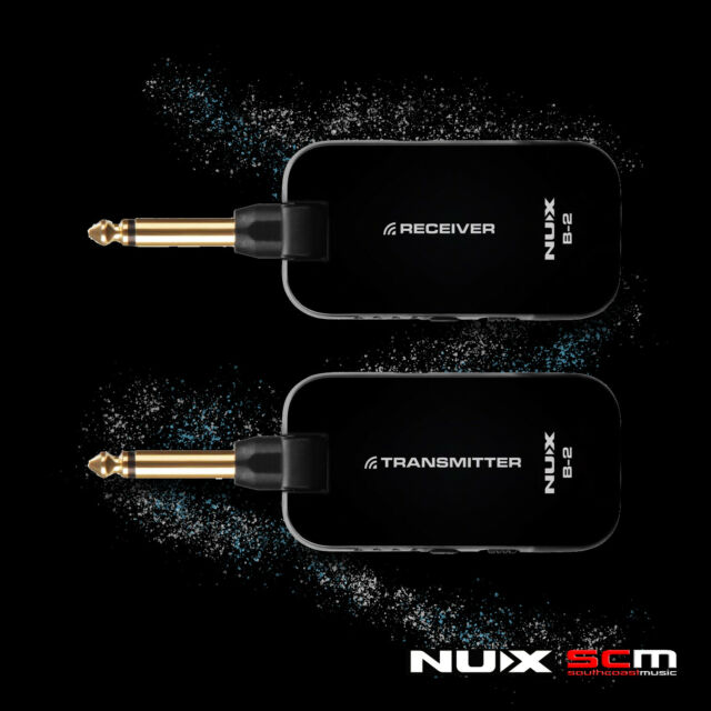 nux b2 2 4ghz guitar and bass wireless system for sale online. Black Bedroom Furniture Sets. Home Design Ideas