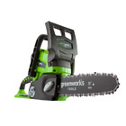 GreenWorks 20272 24V Cordless Lithium-Ion 10 inch ChainSaw Bare Tool Only New