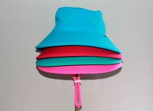 Seconds-Swim-Kids-Eco-Friendly-Baby-Bucket-Sun-Hat-Adjustable-Wide-Brim-UPF-50