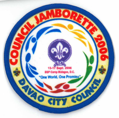 2006 PHILIPPINE SCOUT DAVAO CITY COUNCIL Jamboree OFFICIAL SCOUTS Patch