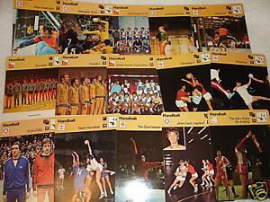 HANDBALL-Sport-Game-1977-79-SPORTSCASTER-15-CARD-SET