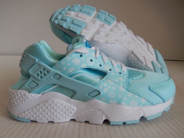 ef2181cec56 Nike Air Huarache Print Run Copa Blue 704946-401 Youth Shoes Size ...