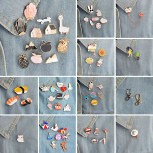 7699311e3ec New Lovely Cute Cartoon Enamel Lapel Collar Pin Corsage Brooch ...