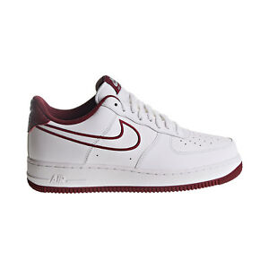fee8bde5818 Nike Air Force 1  07 LTHR Men s Shoes White Team Red AJ7280-100