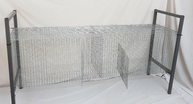 Two  Compartment Rabbit Cage