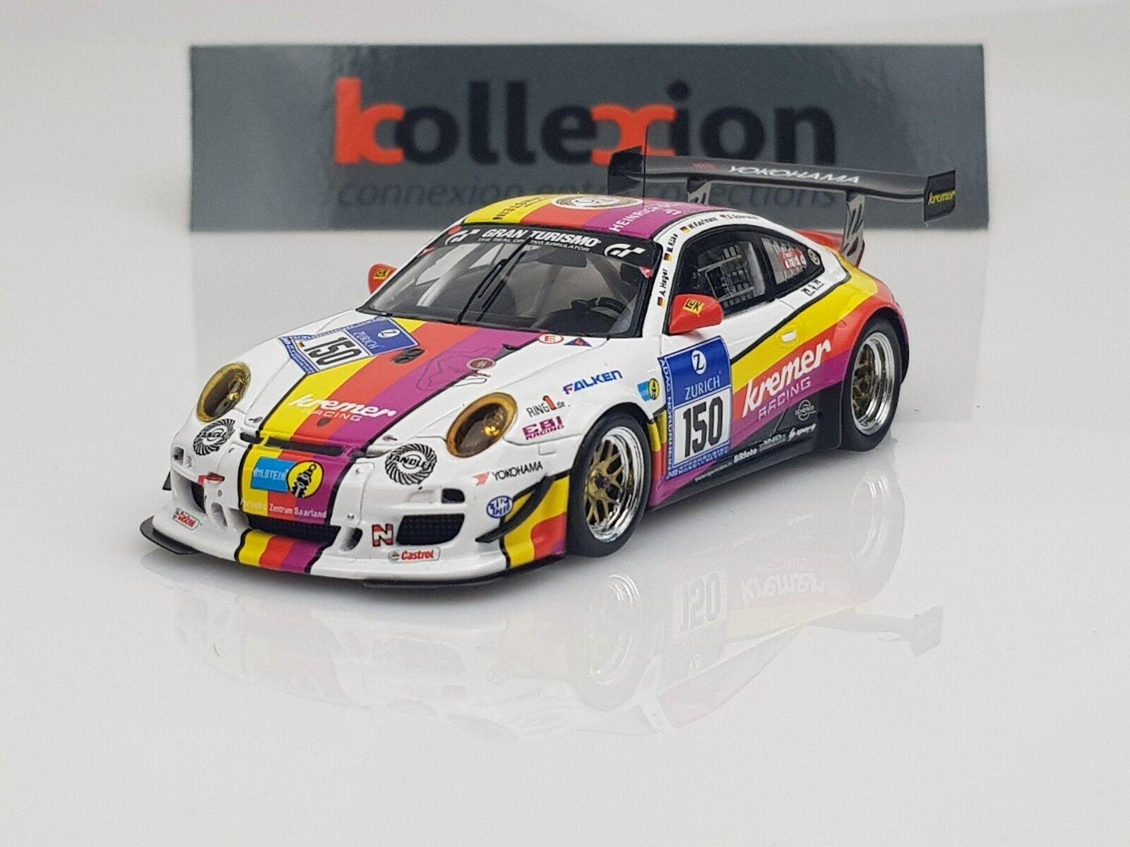 SPARK MAB008 PORSCHE Kremer 997 GT3 KR n°150 24H Nurburgring 2012 1.43 | être Dans L'utilisation