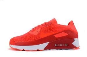 Nike Air Max 90 Ultra 2.0 Flyknit 875943600 Eur 47 Stabile Konstruktion Sneaker
