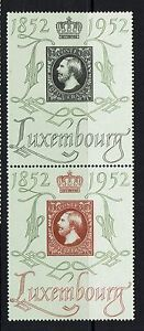 Luxembourg-Sc-278-amp-279-Paire-Comme-neuf-Charniere-hinge-REM-Lot-071916