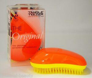 Tangle-Teezer-THE-ORIGINAL-034-MANDARINE-SWEETIE-034-Cepillo-Naranja-Amarillo-13-79