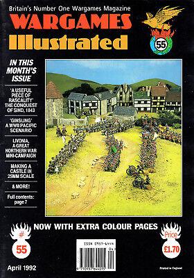 Analitico Wargames Illustrata Nº 55 Aprile 1992-mostra Il Titolo Originale Curare La Tosse E Facilitare L'Espettorazione E Alleviare La Raucedine