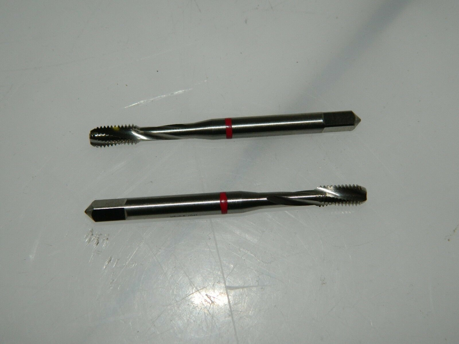 GTD M5x0.80 Metric Coarse 3 Fl D4 HSS Spiral Flute Tap QTY 6 74619