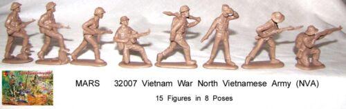 toy soldiers Mars 32007  Vietnam War North Vietnamese Army NVA