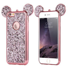 Iphone 6s Plus Case Glitter Phone Girls With Ring Bling Diamond