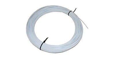 "White 1/8"" PVC Type-I Plastic Welding Rod"