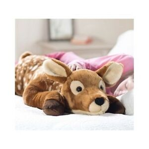 Plush Animal Body Pillows : Deer Stuffed Animal Plush Big Large Body Pillow Jumbo Toys Soft Gift Reindeer eBay