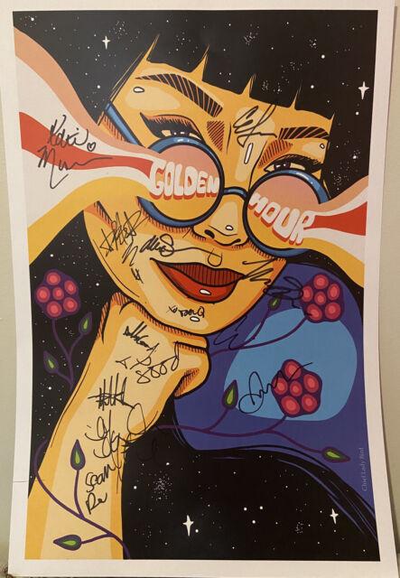 Golden Hour Chief Lady Bird Art Print Signed By Stars, Whitehorse, Dizzy &Sadies