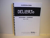 Del Lorto Carburetor 1960 Parts Manual