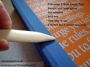 Filmoplast t book book spine box repair tape self adhesive image is loading filmoplast t book book spine amp box repair solutioingenieria Images