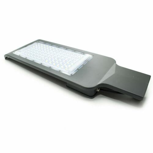 Lampione stradale LED faro armatura 100W 6400K luce per parcheggio giardino IP65