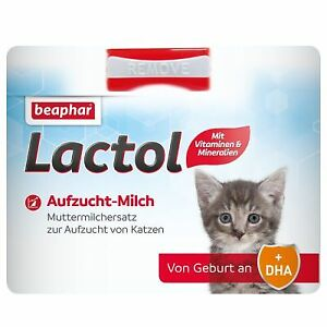 Lactol Chaton Lait De La Naissance Au Sevrage Chat Enceinte Nutriteux 3x 500g