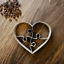 Cœur Jigsaw Love Cookie Cutter-fondant /& Biscuit-Instagram 3 Tailles