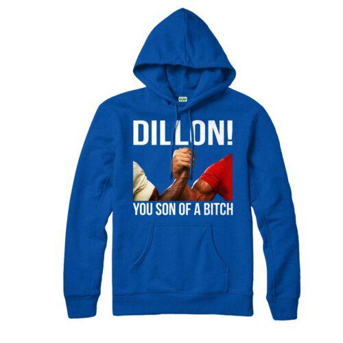 Felpa con cappuccio Predator Dillon è figlio di buona Donna ANNI/'80 film d/'azione sci-fi Felpa Con Cappuccio Top