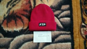 5b8f853f Image is loading FTP-Logo-Beanie-Magenta-Bear-Gradient-Tee-Undefeated-