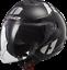 LS2-OF573-Tornado-Jet-Casco-con-Visera-Doble-Roller-Atv-Moto-Quad-Casco-Jet miniatura 3