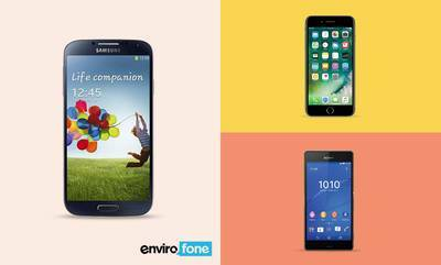 Save up to 10% on smartphones from Envirofone